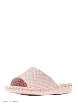 Тапочки Pansy. Цвет: бледно-розовый