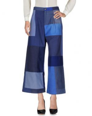 Повседневные брюки RODEBJER. Цвет: синий