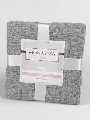 Плед Monet Classic Mona Liza. Цвет: серый