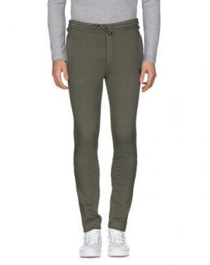 Повседневные брюки CIRCOLO 1901. Цвет: зеленый-милитари