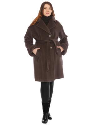 Пальто Fashion, S.A.. Цвет: серый
