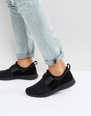 Cayler & Sons Черные кроссовки. Цвет: черный