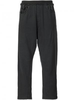 Укороченные брюки Haider Ackermann. Цвет: чёрный