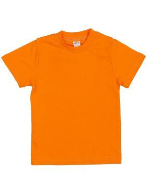 Футболка  детская Bonito kids. Цвет: оранжевый