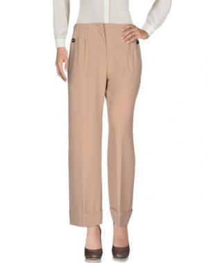 Повседневные брюки TELA. Цвет: верблюжий