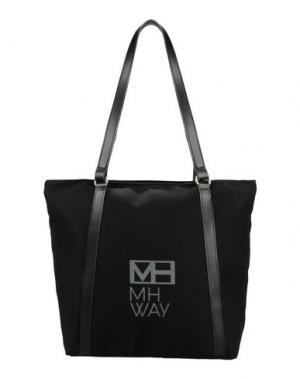 Сумка на плечо MH WAY. Цвет: черный