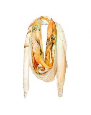Платок FRANCO FERRARI. Цвет: слоновая кость