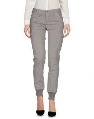 Повседневные брюки TRĒZ. Цвет: серый