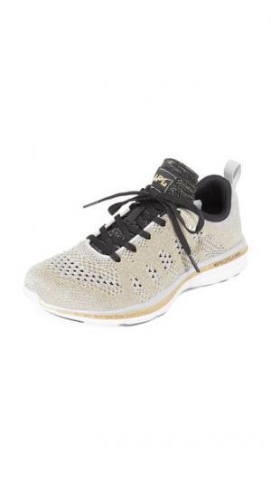 Кроссовки TechLoom Pro APL: Athletic Propulsion Labs. Цвет: серебристый/золотистый/черный