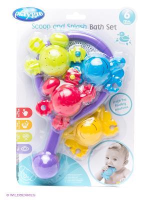Развивающая игрушка Поймай меня Playgro. Цвет: фиолетовый, желтый, салатовый, голубой, малиновый