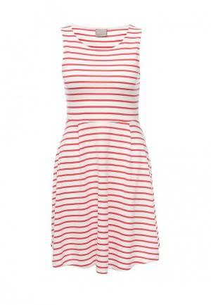 Платье Vero Moda. Цвет: красный