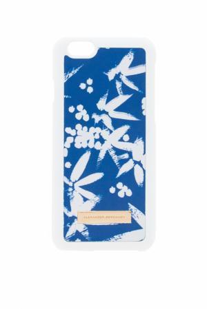Кожаный чехол для iPhone 6 Alexander Terekhov. Цвет: река на синем фоне