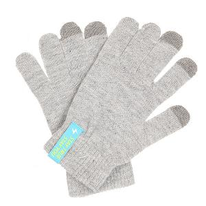 Перчатки  Touch Gloves Light Heather Grey TrueSpin. Цвет: серый