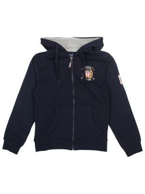 Толстовка Aspen Polo Club. Цвет: серый