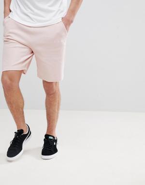 Puma Трикотажные шорты. Цвет: розовый