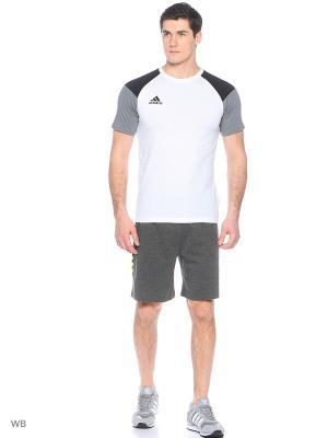 Шорты спортивные Base Shorts Speedline Adidas. Цвет: серый, желтый