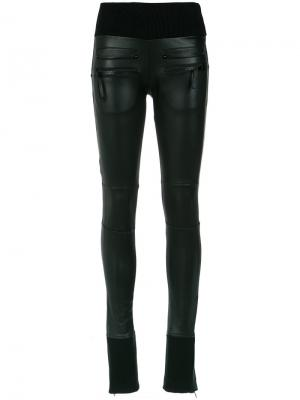 Panels flared trousers Andrea Bogosian. Цвет: чёрный
