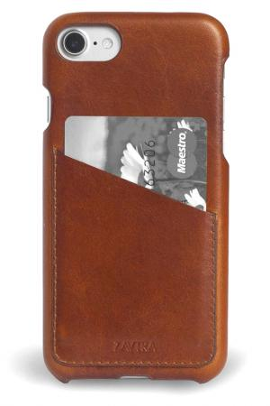 Чехол-бампер для iPhone 7 ZAVTRA. Цвет: коричневый