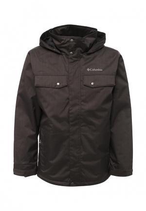 Куртка утепленная Columbia. Цвет: коричневый