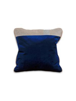 Подушка Альтер РЮШАЛЬ. Цвет: синий
