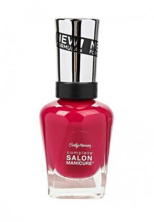 Лак для ногтей Sally Hansen. Цвет: розовый