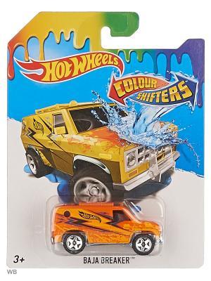 Машинка, изменяющая цвет Hot Wheels. Цвет: оранжевый, антрацитовый, серый