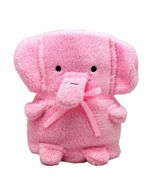 Трансформер Плед-Игрушка Розовый Слоник 60x90 см Склад Уникальных Товаров. Цвет: розовый