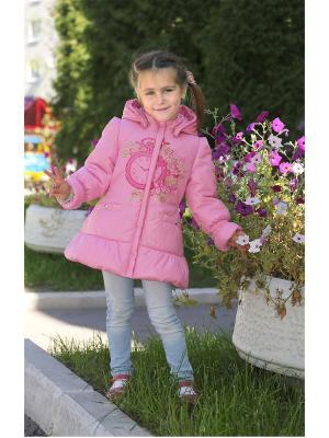 Куртка OVAS. Цвет: розовый