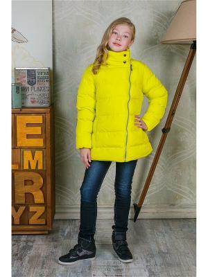Куртка Luminoso. Цвет: желтый