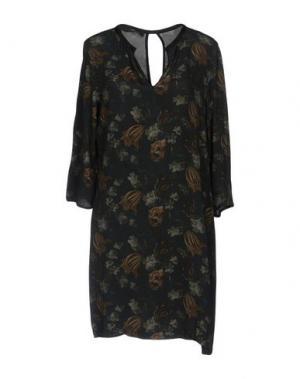 Короткое платье MASON'S. Цвет: темно-зеленый