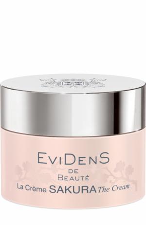 Крем для сохранения молодости кожи Sakura EviDenS de Beaute. Цвет: бесцветный