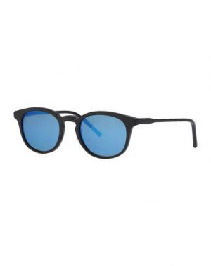 Солнечные очки KYME. Цвет: лазурный