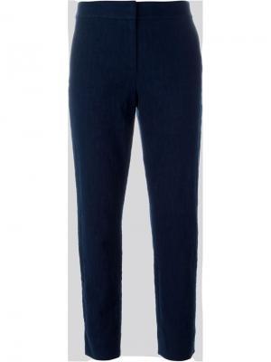 Укороченные брюки Diane Von Furstenberg. Цвет: синий