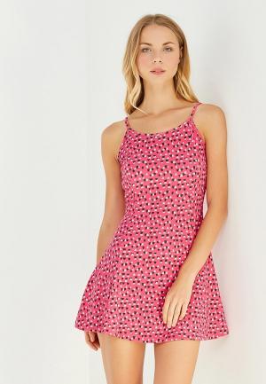 Платье Твое. Цвет: розовый