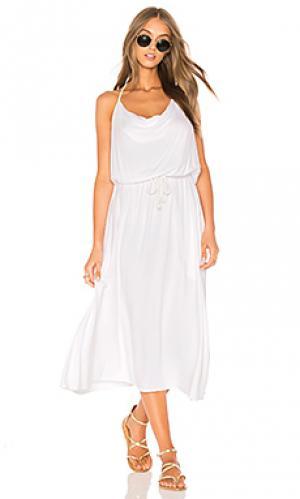 Платье холтер coco LA Made. Цвет: белый