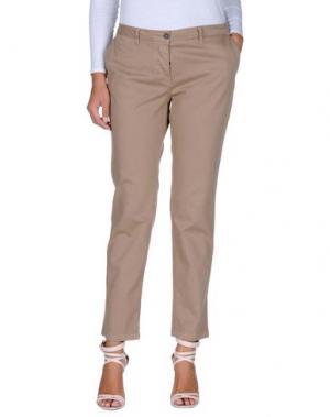 Повседневные брюки DEK'HER. Цвет: светло-коричневый