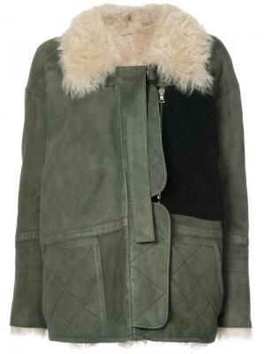 Ines coat Sandy Liang. Цвет: зелёный