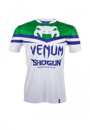 Футболка Venum. Цвет: белый