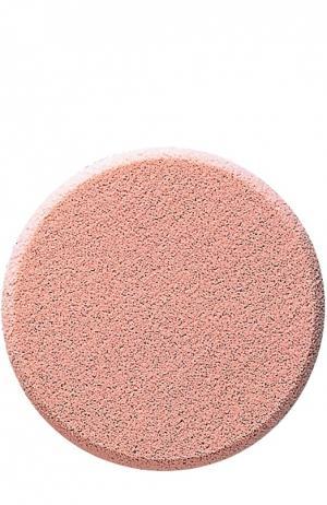 Спонж для нанесения жидкого и кремообразного тонального средства Shiseido. Цвет: бесцветный