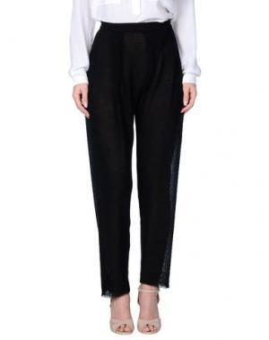 Повседневные брюки UN-NAMABLE. Цвет: черный