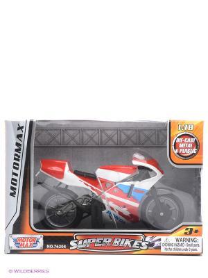 Коллекционная модель мотоцикла Honda NSR250 Motormax. Цвет: красный