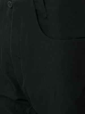 Укороченные брюки свободного кроя A Diciannoveventitre. Цвет: чёрный