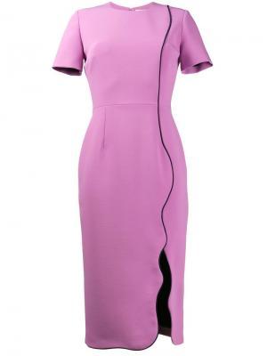 Платье Sabra Roksanda. Цвет: розовый и фиолетовый