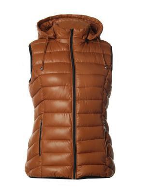 Жилет Classic Fashion. Цвет: коричневый