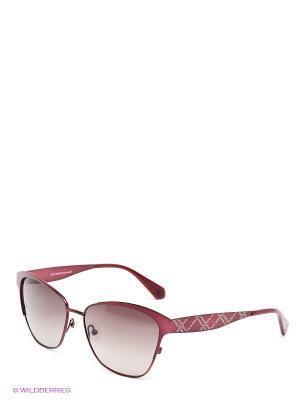 Солнцезащитные очки IS 11-23122 Enni Marco. Цвет: темно-бордовый, черный