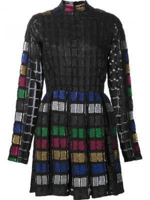 Блестящее платье Dodo Bar Or. Цвет: чёрный