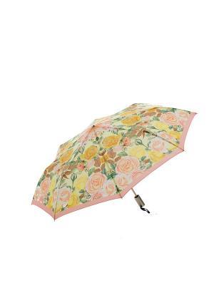 Зонт Slava Zaitsev. Цвет: желтый, персиковый