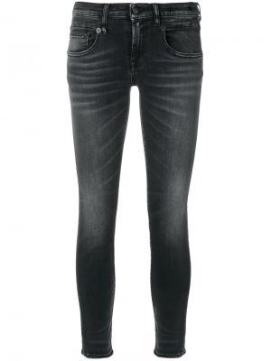 Skinny jeans R13. Цвет: чёрный