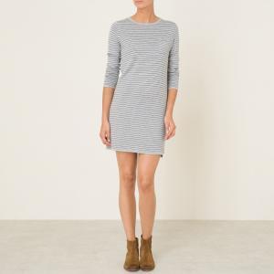 Платье-миди TANTALE HARRIS WILSON. Цвет: серый/ темно-синий