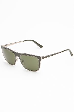 Очки солнцезащитные Valentino. Цвет: зеленый
